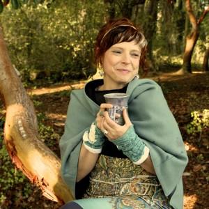 sarah smiling tea